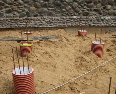 строительство буронабивных свай под ключ