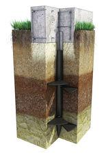 схема 3д свайно-винтовой фундамент