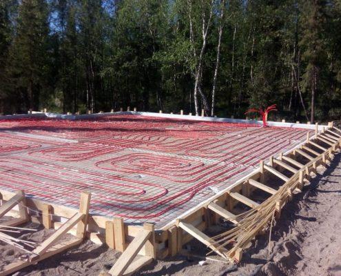 строительство УШП фундамента
